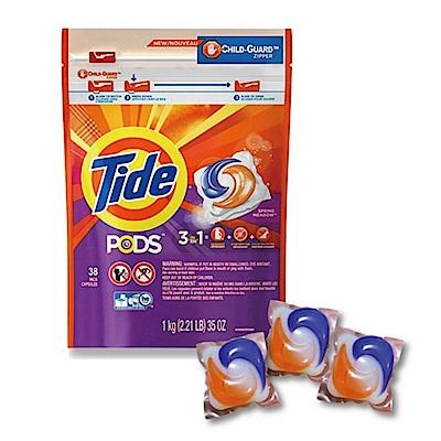 美國Tide洗衣凝膠球3效合1 (38顆/包) @ Y!購物