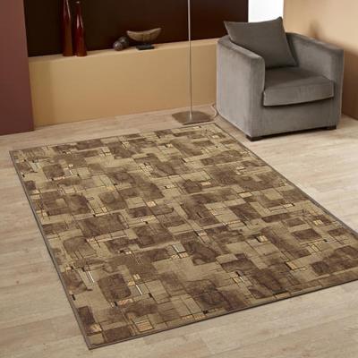 范登伯格 - 朝暘 進口地毯-星辰 (咖) (小款-100x150cm)
