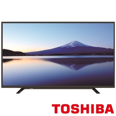 TOSHIBA東芝 43吋 Full HD LED護眼液晶顯示器+視訊盒 43L2680T