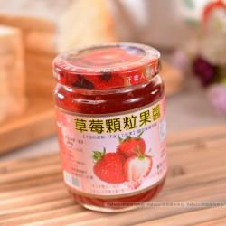 得福大湖草莓農場 草莓顆粒果醬 3瓶 (300g/瓶)