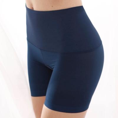 曼黛瑪璉  輕機能中腰中管束褲P12001(普魯士藍)