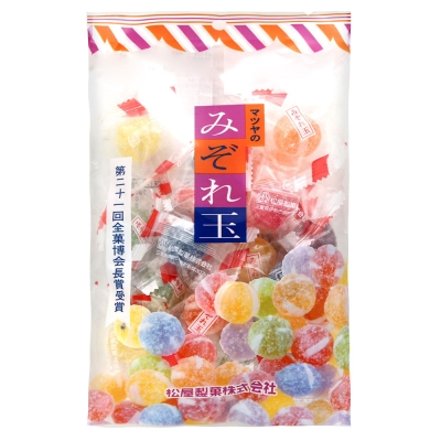 松屋製果 彩色球型糖(160g)