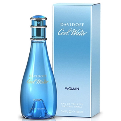 *Davidoff大衛杜夫 Coolwater冷泉女性淡香水100ml