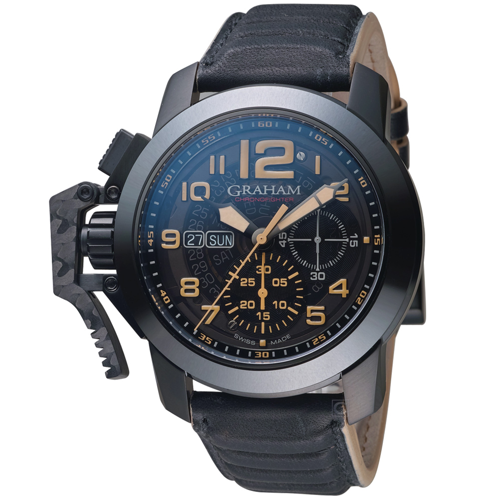 GRAHAM Chronofighter Steel錶(2CCAU.B32A.L144N)