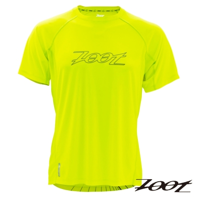 ZOOT 頂級極致冰涼感運動上衣(男) Z1404016(螢光黃)