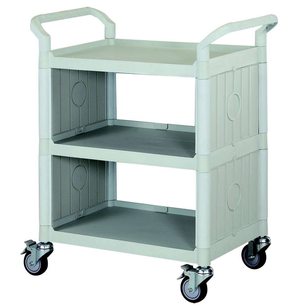 【COLOR】精緻標準型3層側圍邊工具/餐推車