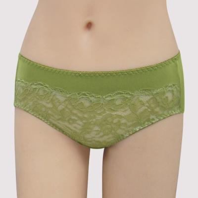 曼黛瑪璉 包覆提托經典   中腰三角萊克內褲(琉璃綠)