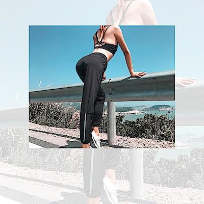 Biki比基尼妮泳衣   吉明反光條速乾透氣長泳褲(單褲)
