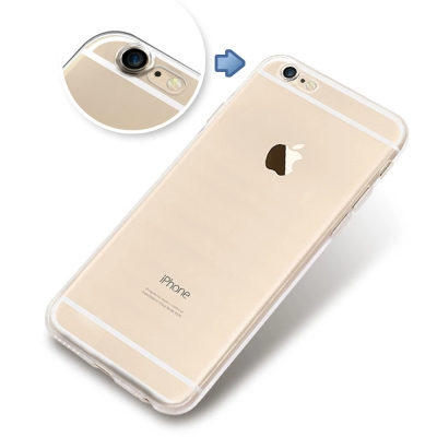 透明殼專家 新一代iPhone6 4.7吋 鏡頭保護全包覆軟殼+保貼組