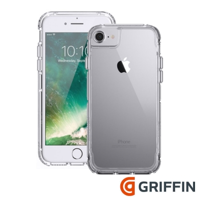Griffin Survivor Clear iPhone7 4.7吋軍規防摔殼