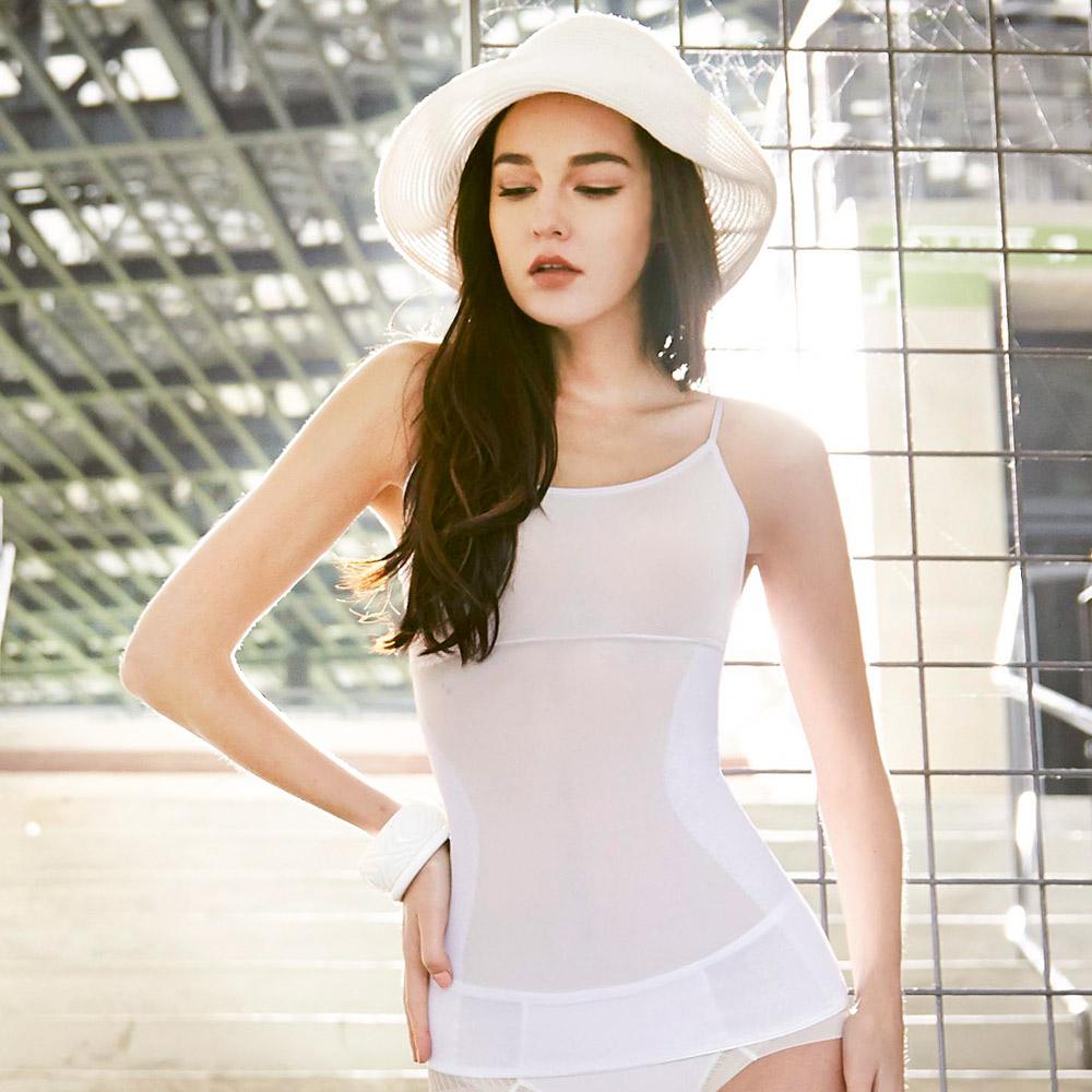 曼黛瑪璉-羽涼級‧輕鬆塑  中機能塑腰小可愛(牙白)