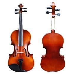 Sebrew希伯萊,MC-1 入門練習款,實木,小提琴,附琴盒、弓、肩墊、配件