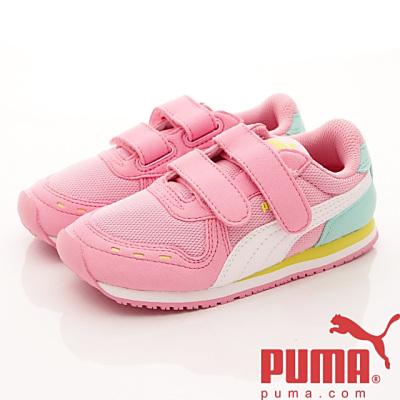 PUMA童鞋-雙絆帶後穩定款-5637324粉(小童段)HN