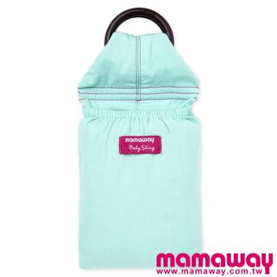 Mamaway-水洗色超柔軟純色育兒揹巾-薄荷綠