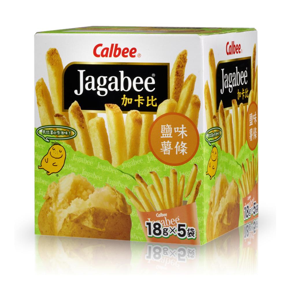 Calbee 薯條先生-鹽味(18gx5入)