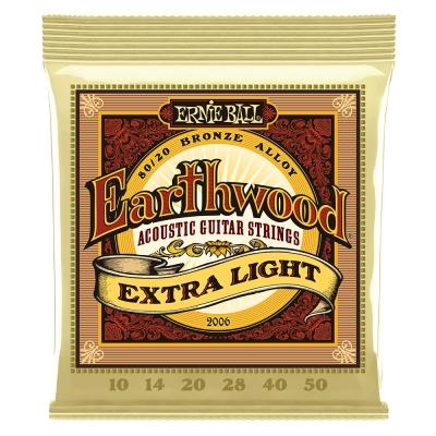 ERNIE BALL 2006 Earthwood 木吉他套弦 10-50 兩套出貨款