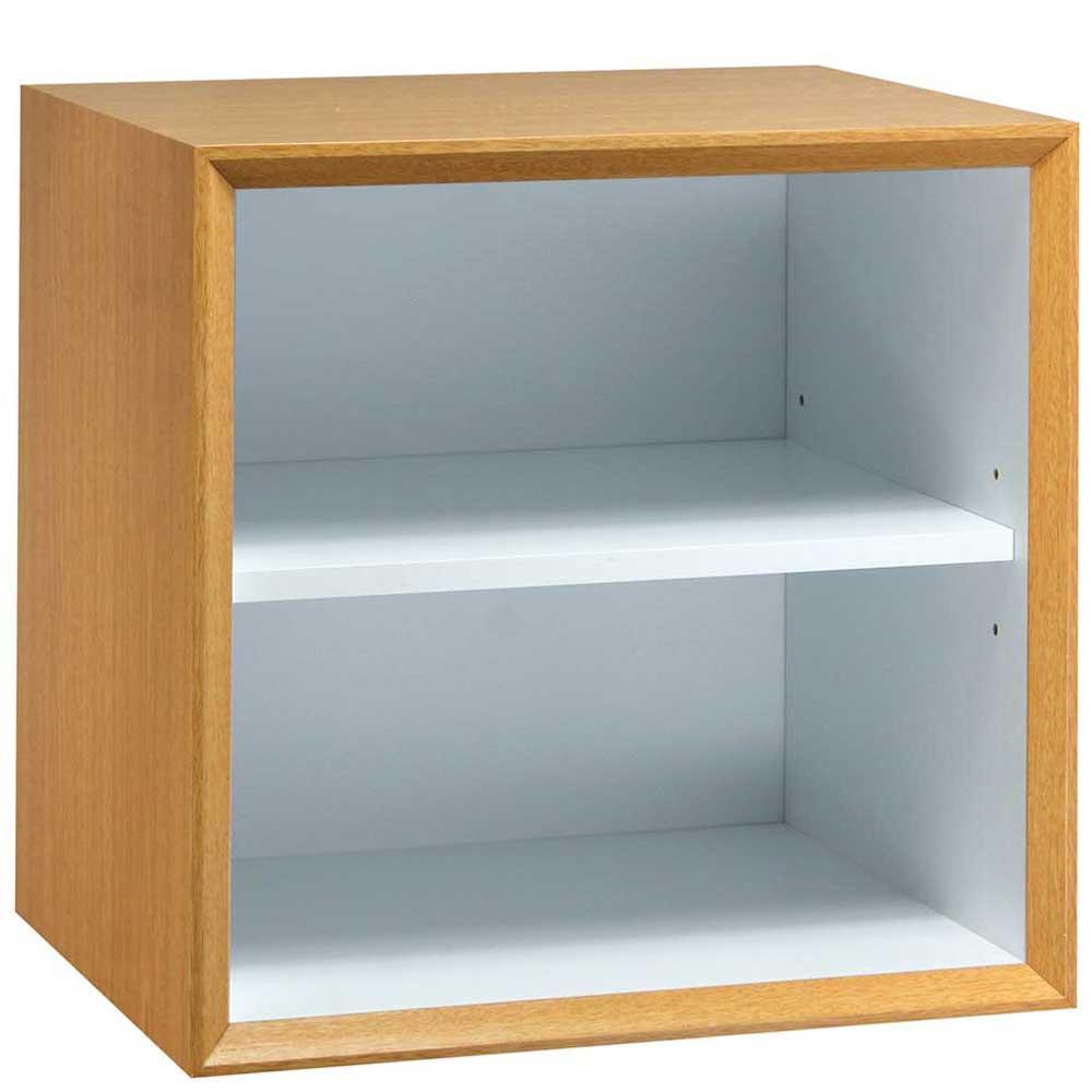 魔術方塊30系統收納櫃/棚板櫃-原木色