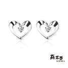 蘇菲亞珠寶 鑽石耳環-唯美系列 0.04克拉鑽石耳環
