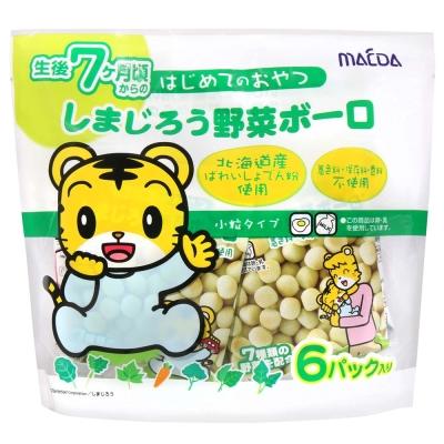 大阪前田製果 小老虎蛋酥-蔬菜 (72g)