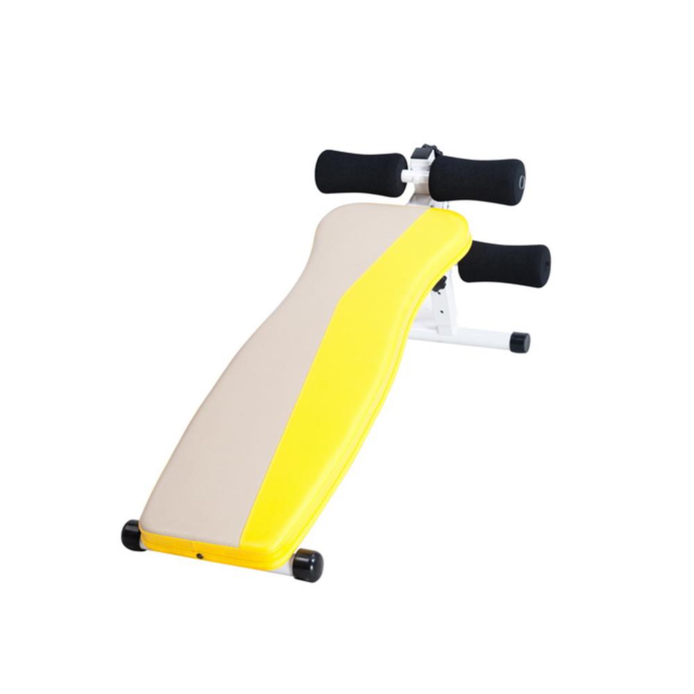 【 X-BIKE 晨昌】雙色 仰臥起坐訓練板/伏地挺身架 台灣精品 50400 -黃色
