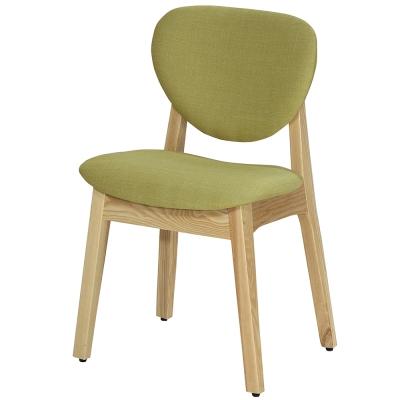AT HOME-歐娜栓木布餐椅(兩色可選)