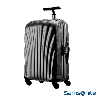 Samsonite新秀麗-25吋-Cosmolite-Curv極輕量材質貝殼硬殼行李箱-黑