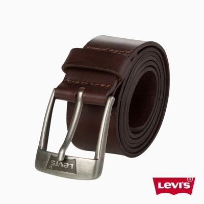 皮帶 男款 時尚針扣 牛皮皮革 - Levis