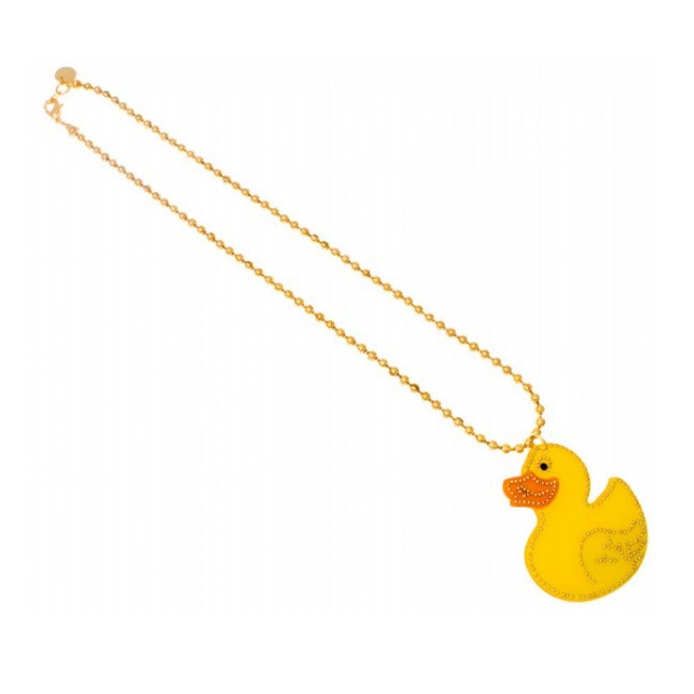 Anna Lou Of London倫敦品牌 Rubber Duck黃色小鴨項鍊