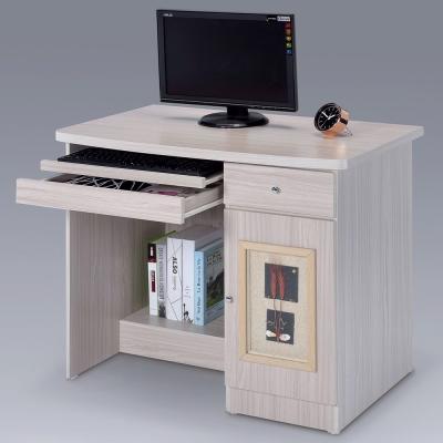 Homelike 自然風味電腦桌-白雪松-92x55x78cm