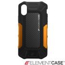 美國 Element Case iPhone X Formula 強化防摔手機保護殼-黑橘