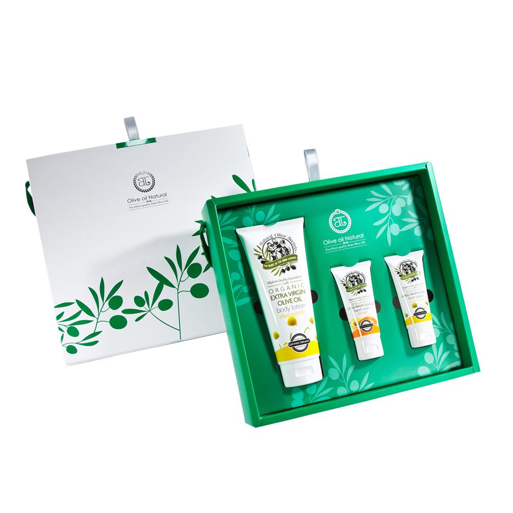 自然之丘 橄欖油身體保養組B組 中禮盒