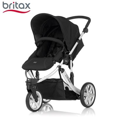 Britax B SMART 三輪雙向手推車 黑色