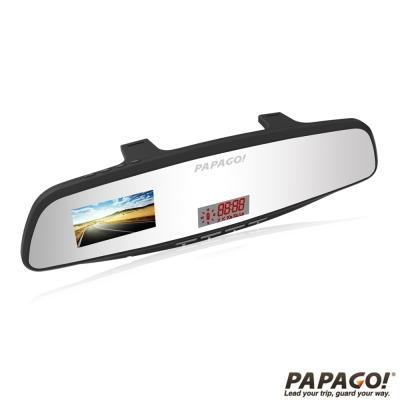 PAPAGO! GoSafe 371 衛星行車安全記錄警示行車記錄器-快