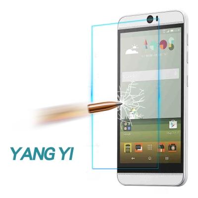 YANG YI 揚邑 HTC Butterfly 3 防爆防刮防眩弧邊 9H鋼化玻璃保護貼