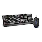 Hawk G7700 電競鍵盤滑鼠超值組(13-HKM770BK)