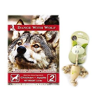 (YAHOO獨家)澳洲 荒野饗宴之與狼共舞-農場雞肉蘋果犬糧5.5磅+贈玩具X1隻