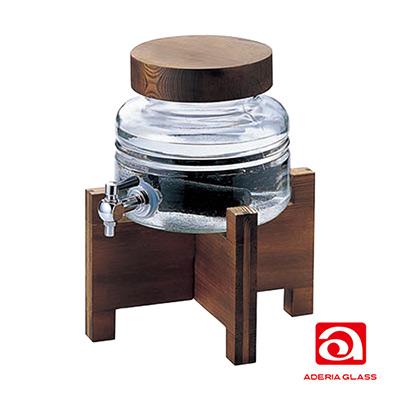 日本ADERIA 水龍頭燒酌壺2000ml(含木架)