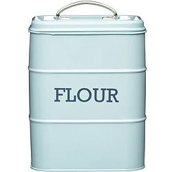 KitchenCraft 復古麵粉密封罐(藍)