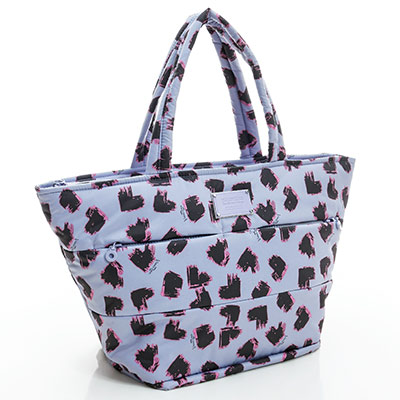 VOVAROVA空氣包-雙口袋手提托特包-彩繪甜心(紫)-法國設計系列