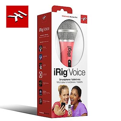 IK Multimedia iRig Voice Pink 行動裝置麥克風 繽紛粉