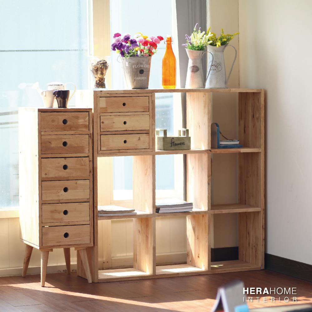 HERA Home Abijah 3X3開放九格收納櫃