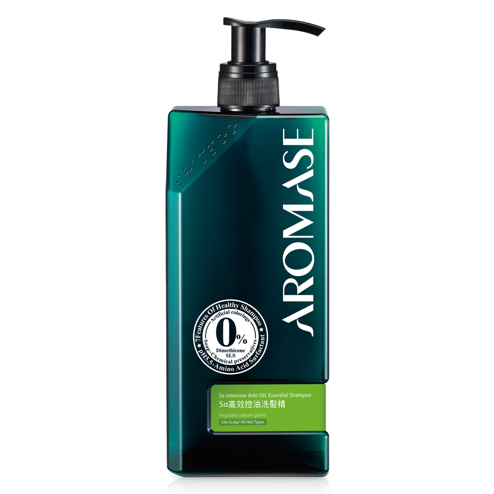Aromase艾瑪絲 5α高效控油洗髮精400mL-高階版