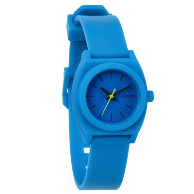 NIXON TIME TELLER P 躍動普普個性腕錶-藍/24mm