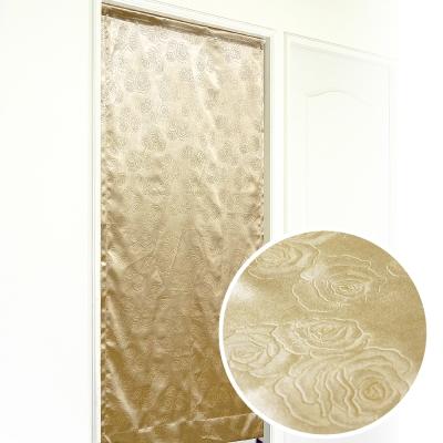 布安於室-薔薇壓紋3明治遮光布風水簾-7色款