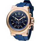 Michael Kors Dylan系列競速方程式計時腕錶-藍色/48mm