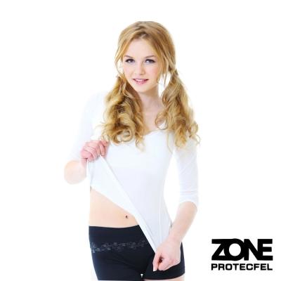 女內褲 諾貝爾世紀纖維貼身防護女褲(黑) ZONE