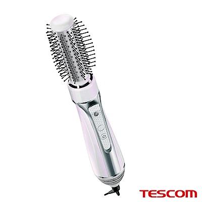 TESCOM 國際電壓椿油造型整髮梳 TIC6JTW(珍珠白)