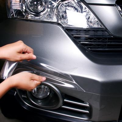 象皮貼 隱形防刮保護膜-保險桿 專用 M號 7X300cm(1入)-快