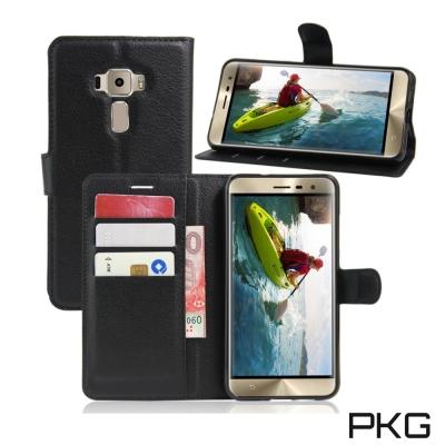 PKG ASUS ZenFone3 5.5 ZE552K 側翻式皮套-經典皮套系...