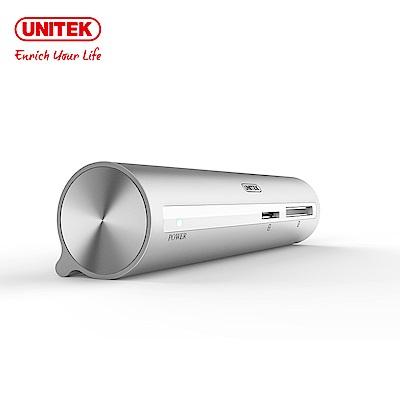 UNITEK 優越者 Type-c轉3埠USB3.0HUB讀卡機